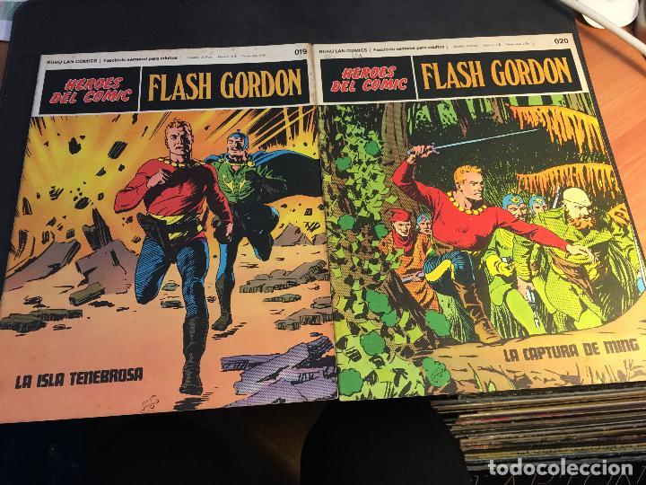Cómics: FLASH GORDON HEROES DEL COMIC LOTE 87 EJEMPLARES (ED. BURULAN) (COIB162) - Foto 35 - 146728464