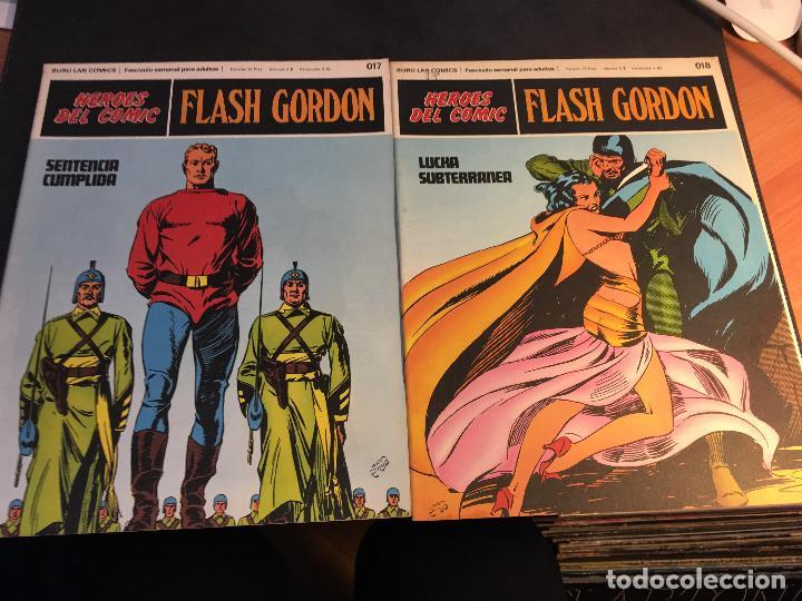 Cómics: FLASH GORDON HEROES DEL COMIC LOTE 87 EJEMPLARES (ED. BURULAN) (COIB162) - Foto 36 - 146728464