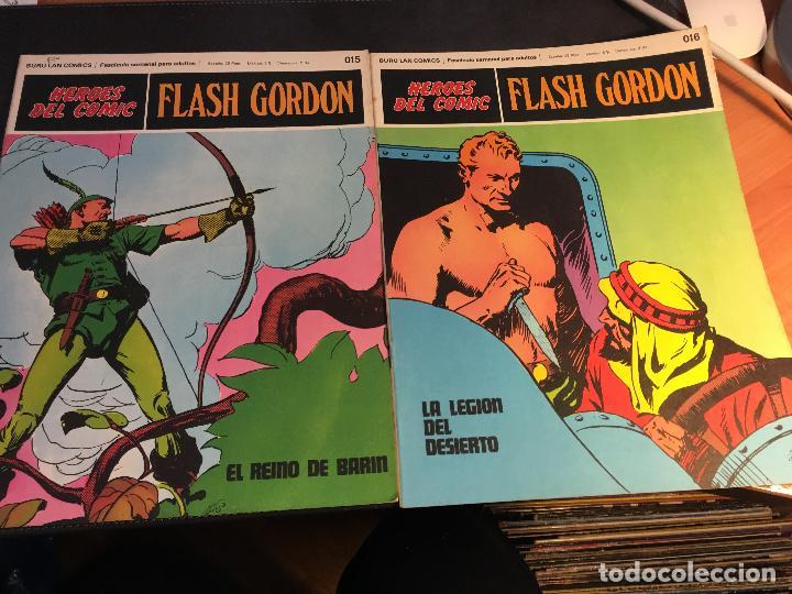 Cómics: FLASH GORDON HEROES DEL COMIC LOTE 87 EJEMPLARES (ED. BURULAN) (COIB162) - Foto 37 - 146728464