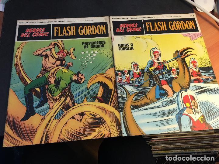 Cómics: FLASH GORDON HEROES DEL COMIC LOTE 87 EJEMPLARES (ED. BURULAN) (COIB162) - Foto 39 - 146728464