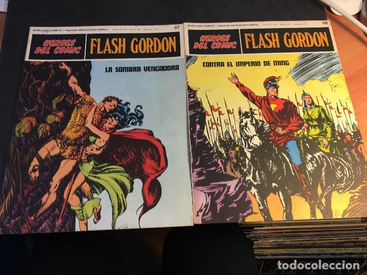 Cómics: FLASH GORDON HEROES DEL COMIC LOTE 87 EJEMPLARES (ED. BURULAN) (COIB162) - Foto 41 - 146728464
