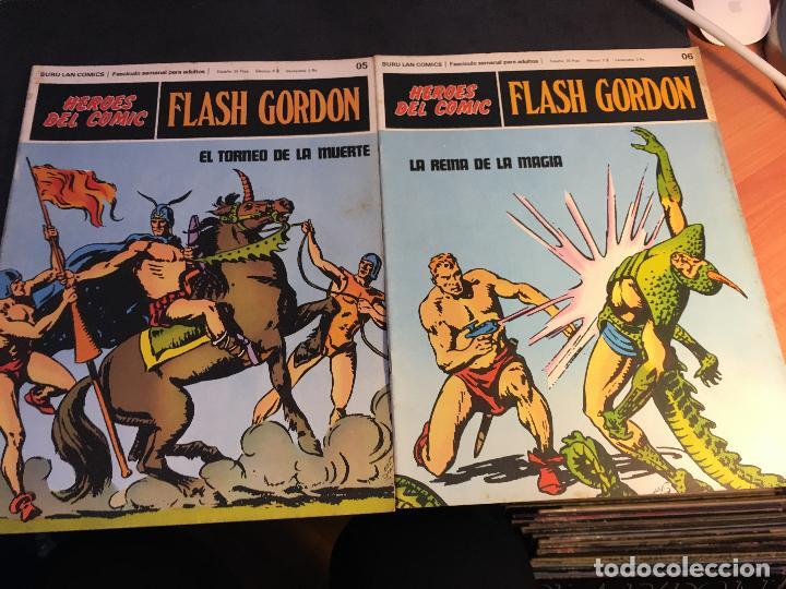 Cómics: FLASH GORDON HEROES DEL COMIC LOTE 87 EJEMPLARES (ED. BURULAN) (COIB162) - Foto 42 - 146728464