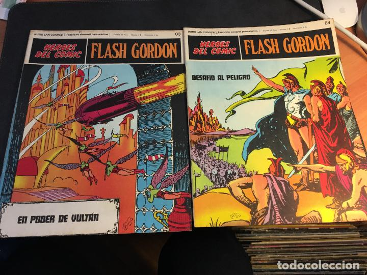 Cómics: FLASH GORDON HEROES DEL COMIC LOTE 87 EJEMPLARES (ED. BURULAN) (COIB162) - Foto 43 - 146728464