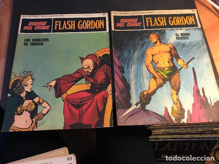 Cómics: FLASH GORDON HEROES DEL COMIC LOTE 87 EJEMPLARES (ED. BURULAN) (COIB162) - Foto 44 - 146728464
