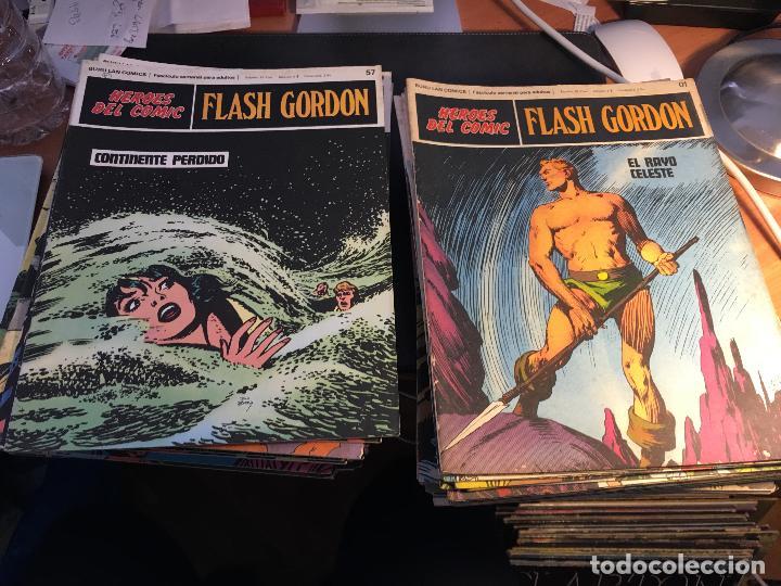 Cómics: FLASH GORDON HEROES DEL COMIC LOTE 87 EJEMPLARES (ED. BURULAN) (COIB162) - Foto 45 - 146728464
