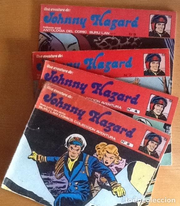 JOHNNY HAZARD (Tebeos y Comics - Buru-Lan - Otros)