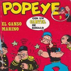 Cómics: COMIC COLECCION POPEYE Nº 9. Lote 83902888