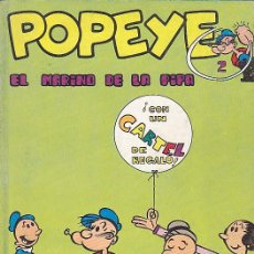 Cómics: COMIC COLECCION POPEYE Nº 2. Lote 83903412
