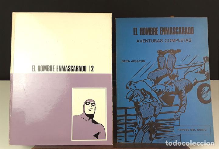 HEROES DEL COMIC. EL HOMBRE ENMASCARADO. 18 EJEM(VER DESCRIP). EDIC. BURULAN. 1971/72. (Tebeos y Comics - Buru-Lan - Hombre Enmascarado)