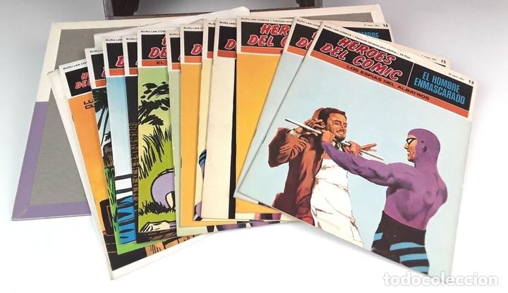 Cómics: HEROES DEL COMIC. EL HOMBRE ENMASCARADO. 18 EJEM(VER DESCRIP). EDIC. BURULAN. 1971/72. - Foto 3 - 83992260
