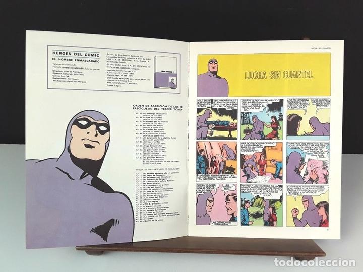 Cómics: HEROES DEL COMIC. EL HOMBRE ENMASCARADO. 18 EJEM(VER DESCRIP). EDIC. BURULAN. 1971/72. - Foto 6 - 83992260