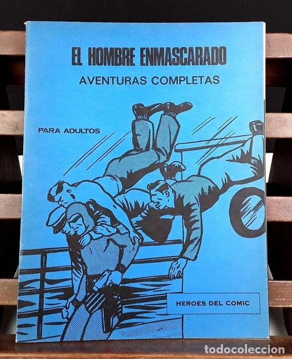 Cómics: HEROES DEL COMIC. EL HOMBRE ENMASCARADO. 18 EJEM(VER DESCRIP). EDIC. BURULAN. 1971/72. - Foto 8 - 83992260