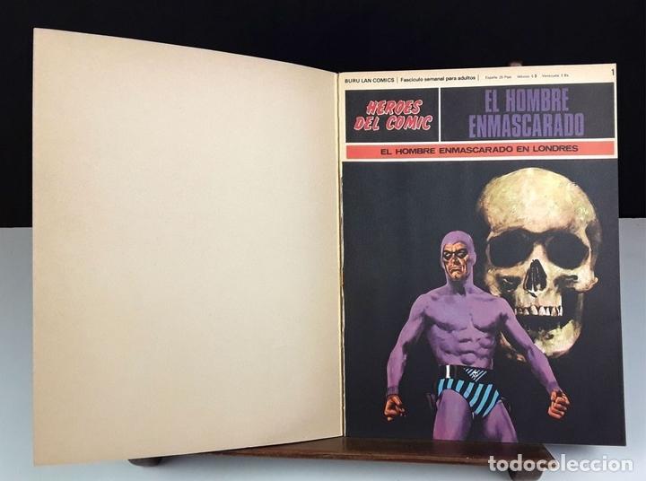 Cómics: HEROES DEL COMIC. EL HOMBRE ENMASCARADO. 18 EJEM(VER DESCRIP). EDIC. BURULAN. 1971/72. - Foto 9 - 83992260
