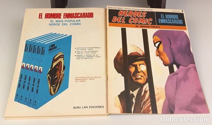 Cómics: HEROES DEL COMIC. EL HOMBRE ENMASCARADO. 18 EJEM(VER DESCRIP). EDIC. BURULAN. 1971/72. - Foto 12 - 83992260