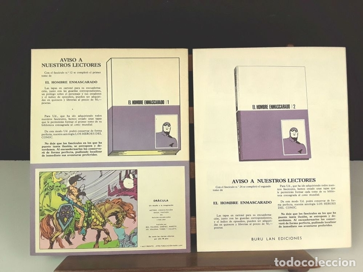 Cómics: HEROES DEL COMIC. EL HOMBRE ENMASCARADO. 18 EJEM(VER DESCRIP). EDIC. BURULAN. 1971/72. - Foto 17 - 83992260