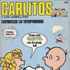 Cómics: COMIC COLECCION CARLITOS Nº 24. Lote 84019552