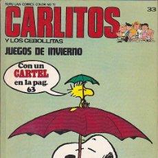 Cómics: COMIC COLECCION CARLITOS Nº 33. Lote 84020380