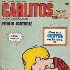 Cómics: COMIC COLECCION CARLITOS Nº 38. Lote 84020712
