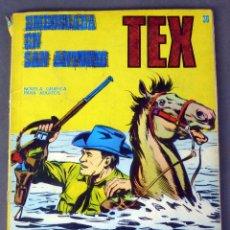 Cómics: TEX Nº 36 EMBOSCADA EN SAN ANTONIO BURULAN BURU LAN NOVELA GRÁFICA ADULTOS 1972. Lote 84722112