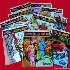 Cómics: FLASH GORDON, LOTE DE 10 FASCÍCULOS PERTENECIENTES AL TOMO 2, 1971 - BURU-LAN - BUEN ESTADO.. Lote 84867252