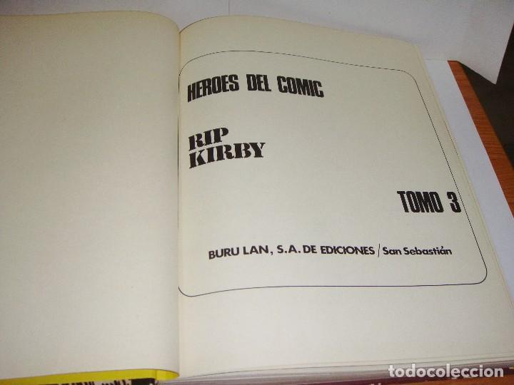 Cómics: Rip Kirby. Nº 3. Burulan. 1973. - Foto 2 - 84981516