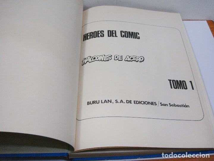 Cómics: HALCONES DE ACERO - TOMO 1 - COLECCIÓN HEROES DEL COMIC - BURU LAN, S.A., 1974 - Foto 2 - 84981648