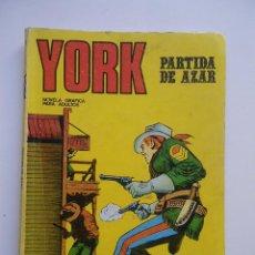 Comics - YORK Nº 6 PARTIDA DE AZAR / BURU LAN 1971 - 85927764