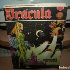 Cómics: DRACULA - FASCICULOS SEMANALES - LOTE DE 39 NÚMEROS- BURULAN - ENVIO GRATIS. Lote 86147560