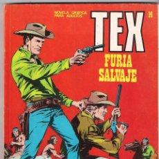 Cómics: TEX. Nº 14. FURIA SALVAJE. Lote 86216260
