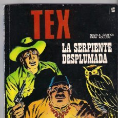 Cómics: TEX. Nº 43. LA SERPIENTE DESPLUMADA.. Lote 86218524