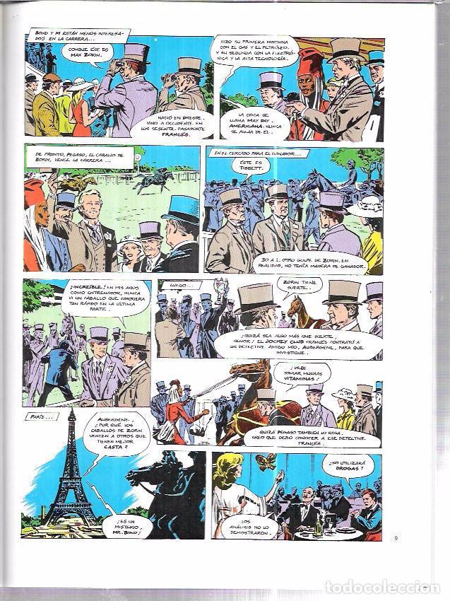 Cómics: JAMES BOND 007. PANORAMA PARA MATAR. EDICIONES FORUM. NOVELAS GRÁFICAS ESPECIAL CINECOMIC. - Foto 3 - 86351504