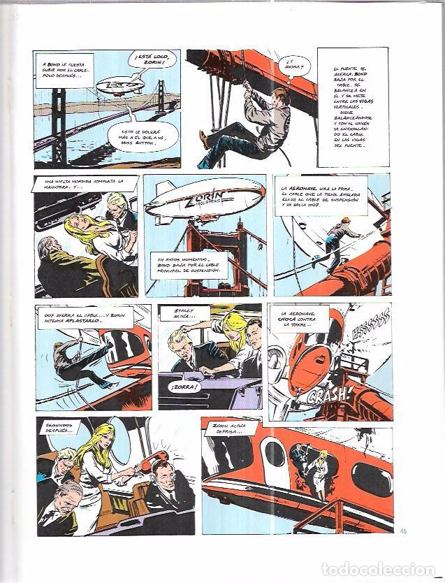 Cómics: JAMES BOND 007. PANORAMA PARA MATAR. EDICIONES FORUM. NOVELAS GRÁFICAS ESPECIAL CINECOMIC. - Foto 4 - 86351504