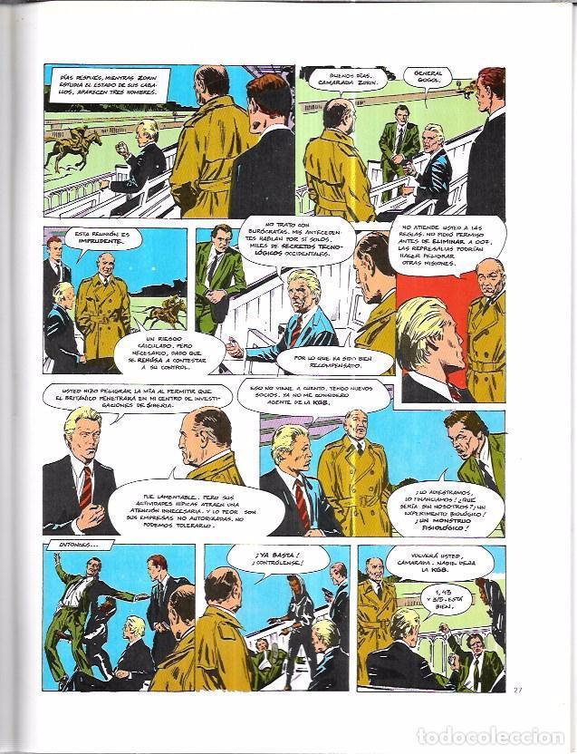 Cómics: JAMES BOND 007. PANORAMA PARA MATAR. EDICIONES FORUM. NOVELAS GRÁFICAS ESPECIAL CINECOMIC. - Foto 5 - 86351504