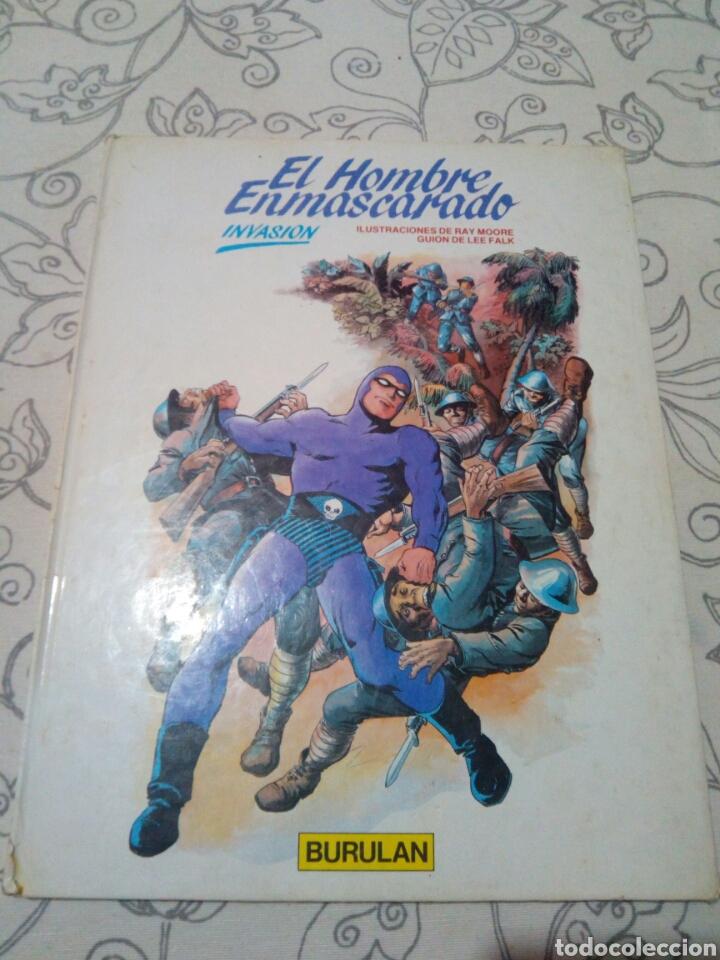 EL HOMBRE ENMASCARADO INVASION BURULAN (Tebeos y Comics - Buru-Lan - Hombre Enmascarado)
