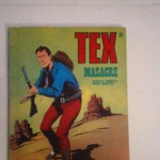 Cómics: TEX - BURU LAN - NUMERO 2 4 - MASACRE - BUEN ESTADO - CJ 105 - GORBAUD. Lote 86971376