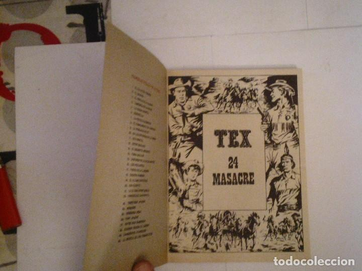 Cómics: TEX - BURU LAN - NUMERO 2 4 - MASACRE - BUEN ESTADO - CJ 105 - GORBAUD - Foto 2 - 86971376