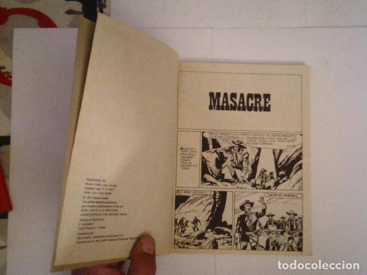 Cómics: TEX - BURU LAN - NUMERO 2 4 - MASACRE - BUEN ESTADO - CJ 105 - GORBAUD - Foto 3 - 86971376