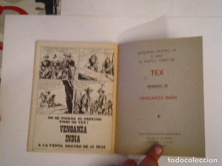 Cómics: TEX - BURU LAN - NUMERO 2 4 - MASACRE - BUEN ESTADO - CJ 105 - GORBAUD - Foto 4 - 86971376