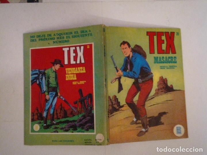 Cómics: TEX - BURU LAN - NUMERO 2 4 - MASACRE - BUEN ESTADO - CJ 105 - GORBAUD - Foto 5 - 86971376