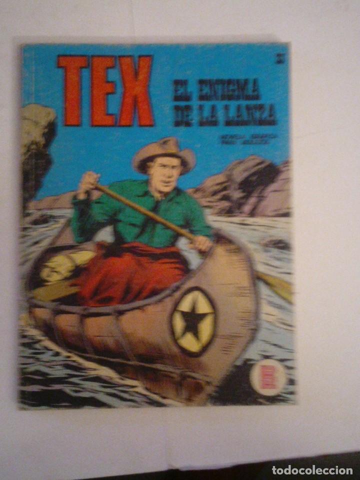 TEX - BURU LAN - NUMERO 33 - EL ENIGMA DE LA LANZA - CJ 105 - GORBAUD (Tebeos y Comics - Buru-Lan - Tex)