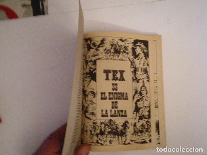 Cómics: TEX - BURU LAN - NUMERO 33 - EL ENIGMA DE LA LANZA - CJ 105 - GORBAUD - Foto 2 - 86971700