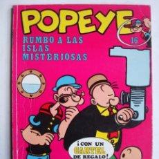 Popeye nº 16 Rumbo a las islas misteriosas (Buru Lan)