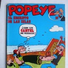 Cómics: POPEYE Nº 10 EL SECRETO DE LAS ISLAS (BURU LAN). Lote 86972140