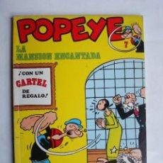 Cómics: POPEYE Nº 7 LA MASIÓN ENCANTADA (BURU LAN). Lote 86972176