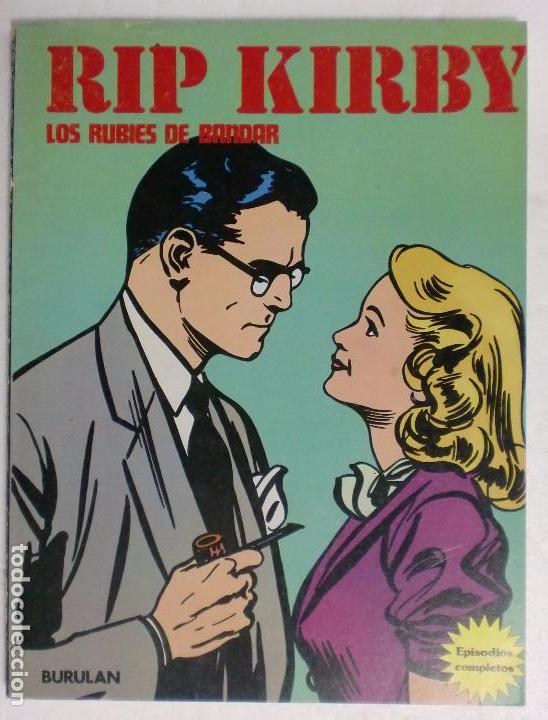 RIP KIRBY. LOS RUBIES DE BANDAR TOMO VI. BURULAN. PERFECTO ESTADO. (Tebeos y Comics - Buru-Lan - Rip Kirby)