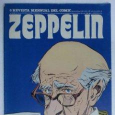 Cómics: REVISTA ZEPPELIN. EDICIONES BURULAN. AÑO I Nº 3. 1973. Lote 87125456