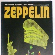 Cómics: REVISTA ZEPPELIN. EDICIONES BURULAN. AÑO I Nº 2. 1973. Lote 87125568