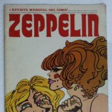 Cómics: REVISTA ZEPPELIN. EDICIONES BURULAN. AÑO I Nº 1. 1973. Lote 87125632