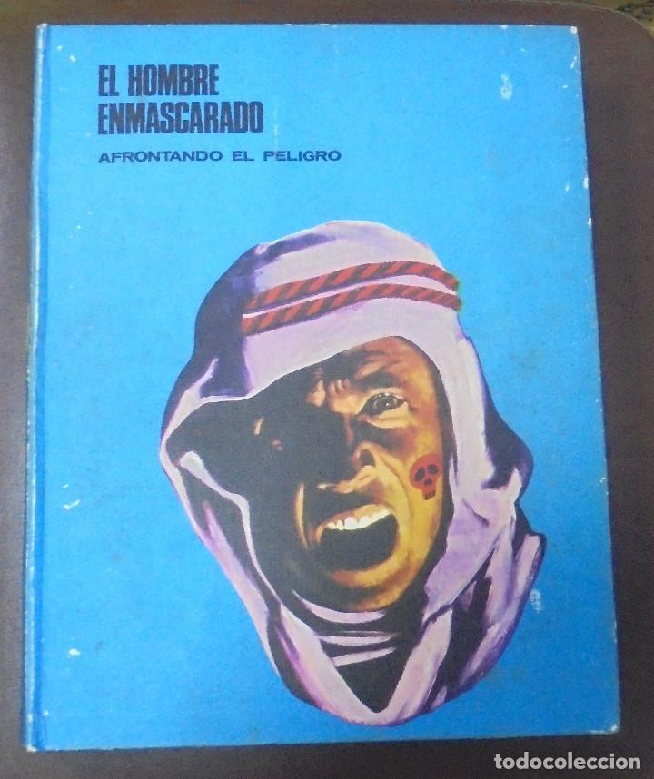 EL HOMBRE ENMASCARADO. AFRONTANDO EL PELIGRO. TOMO I. BURU LAN EDICIONES. 12 EPISODIOS. 1971. (Tebeos y Comics - Buru-Lan - Hombre Enmascarado)