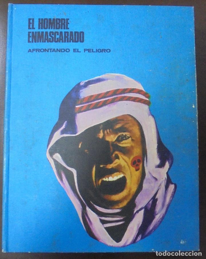 EL HOMBRE ENMASCARADO. AFRONTANDO EL PELIGRO. TOMO II. BURU LAN EDICIONES. 12 EPISODIOS. 1971. (Tebeos y Comics - Buru-Lan - Hombre Enmascarado)